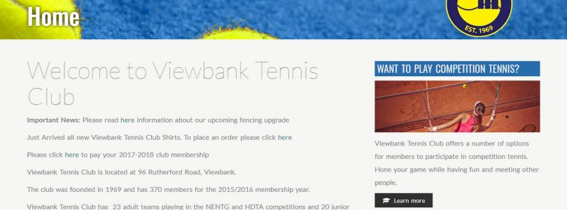 Viewbank Tennis Club