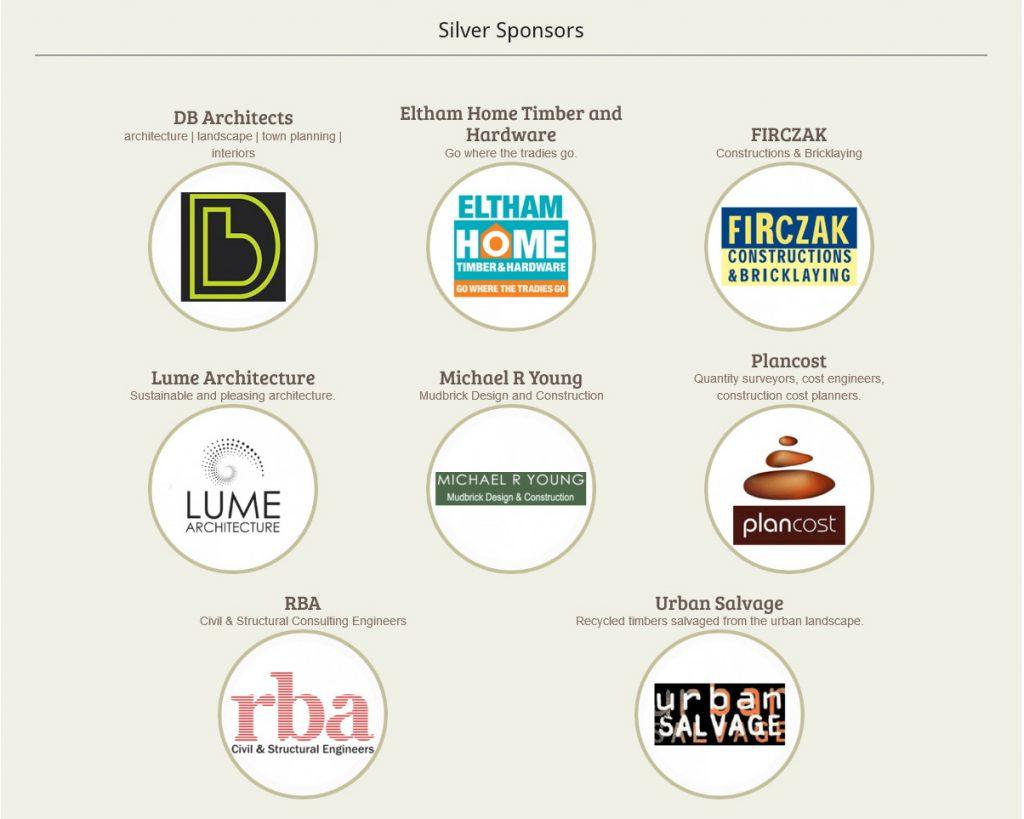 Silver sponsors for 2018