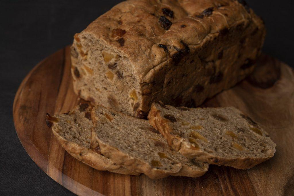 Organic Rye Fruit Loaf
