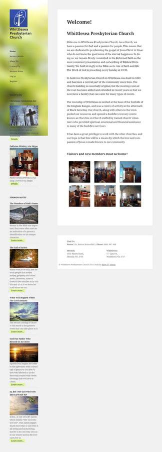 Whittlesea/Mernda home page.